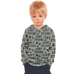 Army Stong Military Kids  Overhead Hoodie