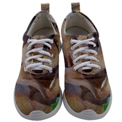 Close Up Mushroom Abstract Mens Athletic Shoes