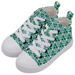 Illustrations Background Texture Kids  Mid-top Canvas Sneakers by Mariart