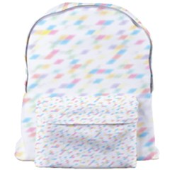 Texture Background Pastel Box Giant Full Print Backpack