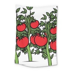 Tomato Garden Vine Plants Red Small Tapestry
