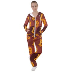 Cryptocurrency Bitcoin Digital Women s Tracksuit