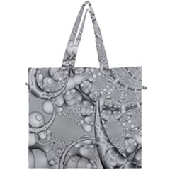 Illustrations Entwine Fractals Canvas Travel Bag
