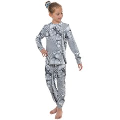 Illustrations Entwine Fractals Kids  Long Sleeve Set