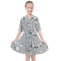 Illustrations Entwine Fractals Kids  All Frills Chiffon Dress