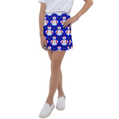 Seamless Snow Cool Kids  Tennis Skirt by HermanTelo