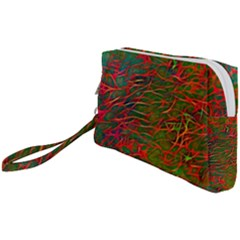 Background Pattern Texture Wristlet Pouch Bag (small)