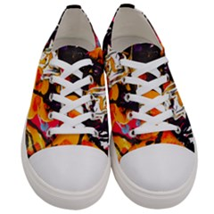 Consolation Before Battle 1 1 Women s Low Top Canvas Sneakers