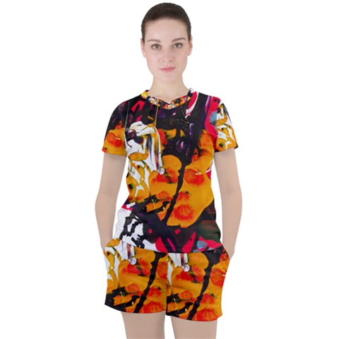 Consolation Before Battle 1 1 Women s Tee And Shorts Set by bestdesignintheworld