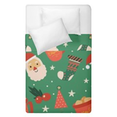 Colorful Funny Christmas Pattern Duvet Cover Double Side (single Size)