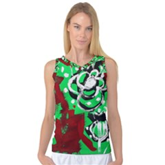Plants And Flowers 1 1 Women s Basketball Tank Top
