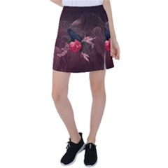 Wonderful Crow Tennis Skirt