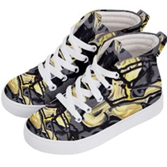 Motion And Emotion 1 2 Kids  Hi-top Skate Sneakers by bestdesignintheworld