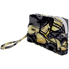 Motion And Emotion 1 2 Wristlet Pouch Bag (small) by bestdesignintheworld