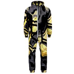 Motion And Emotion 1 2 Hooded Jumpsuit (men)  by bestdesignintheworld