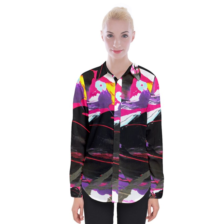 Consolation 1 1 Womens Long Sleeve Shirt