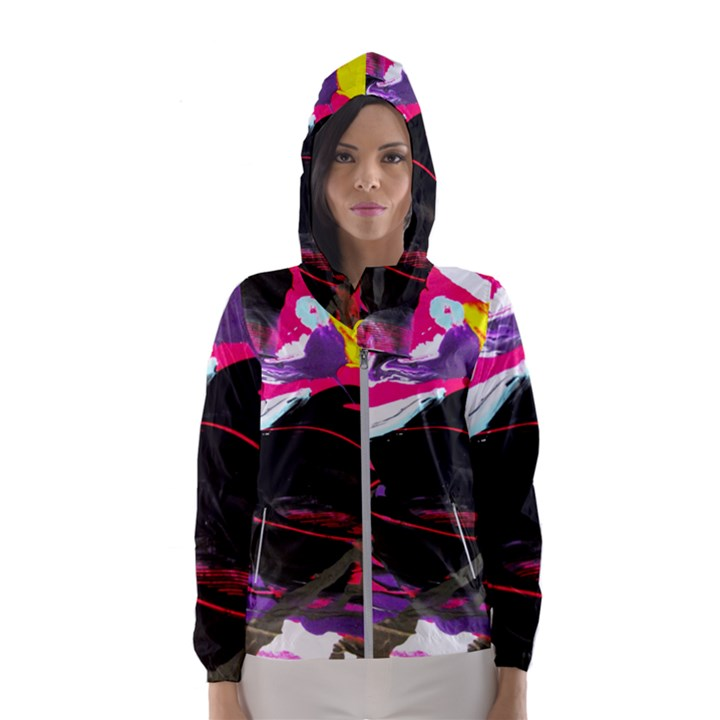 Consolation 1 1 Women s Hooded Windbreaker