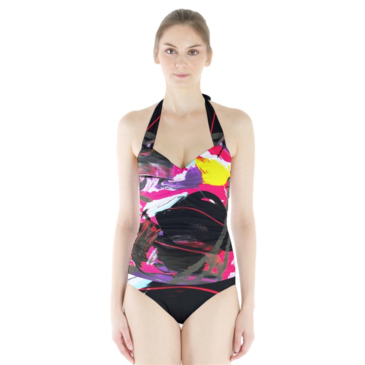 Consolation 1 1 Halter Swimsuit