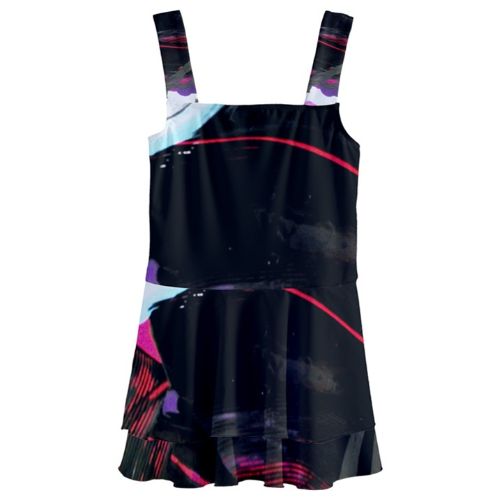 Consolation 1 1 Kids  Layered Skirt Swimsuit