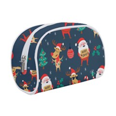 Funny Christmas Pattern Makeup Case (small)