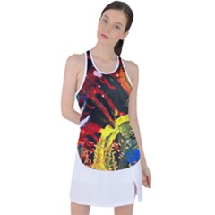 Parade Of The Planets 1 1 Racer Back Mesh Tank Top