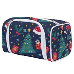 Colorful Funny Christmas Pattern Toiletries Pouch
