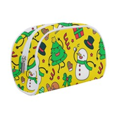 Funny Decoration Christmas Pattern Makeup Case (small)