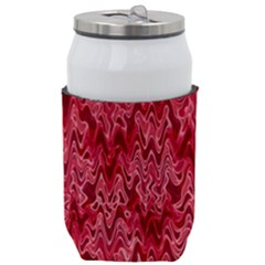 Background Abstract Surface Red Can Holder