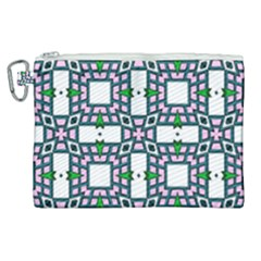 Illustrations Texture Modern Canvas Cosmetic Bag (xl)