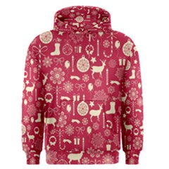 Christmas Pattern Background Men s Core Hoodie
