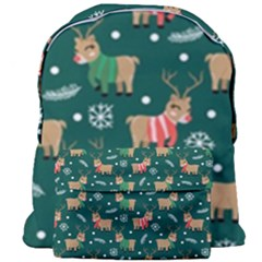Cute Christmas Pattern Doodl Giant Full Print Backpack