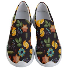 Christmas Seamless Pattern Women s Lightweight Slip Ons by Vaneshart