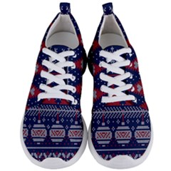 Beautiful Knitted Christmas Pattern Men s Lightweight Sports Shoes