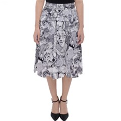 Animal Seamless Pattern Classic Midi Skirt