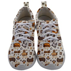Animal Patterns Safari Mens Athletic Shoes