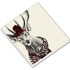Xmas Deer Small Memo Pad by xmasyancow