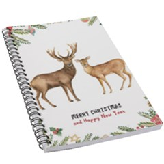 Xmas Deer 5 5  X 8 5  Notebook by xmasyancow