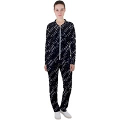 Black And White Ethnic Geometric Pattern Casual Jacket And Pants Set by dflcprintsclothing