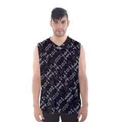 Black And White Ethnic Geometric Pattern Men s Basketball Tank Top by dflcprintsclothing