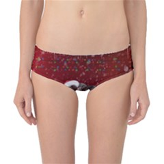 I m Ready For Christmas, Funny Wolf Classic Bikini Bottoms by FantasyWorld7