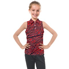Neurons Cells Train Link Brain Kids  Sleeveless Polo Tee