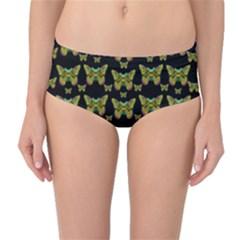 Butterflies With Wings Of Freedom And Love Life Mid Waist Bikini Bottoms by pepitasart