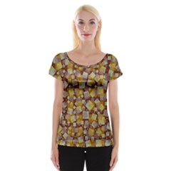 Zappwaits Fantastic Cap Sleeve Top by zappwaits