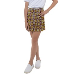 Zappwaits Fantastic Kids  Tennis Skirt by zappwaits