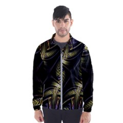 Fractal Texture Pattern Men s Windbreaker