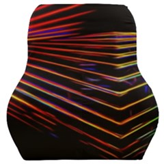 Abstract Neon Background Light Car Seat Back Cushion
