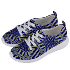 Wood Flower And Matches Mandala Vintage Women s Lightweight Sports Shoes by pepitasart