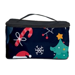 Colorful Funny Christmas Pattern Cosmetic Storage by Vaneshart