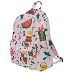 Colorful Funny Christmas Pattern Merry Xmas The Plain Backpack