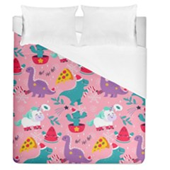 Colorful Funny Christmas Pattern Ho Ho Ho Duvet Cover (queen Size)